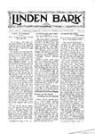 Linden Bark, November 29, 1927