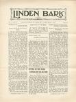 Linden Bark, March 1, 1927
