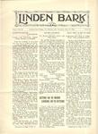 Linden Bark, May 17, 1927