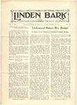 Linden Bark, November 16, 1926