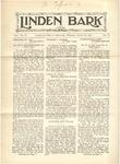 The Linden Bark, January 20, 1926