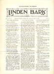 The Linden Bark, May 19, 1926