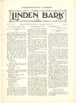 The Linden Bark, May 26, 1926