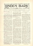 The Linden Bark, October 21, 1925