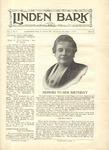 The Linden Bark, November 4, 1925