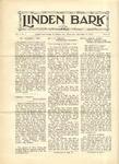 The Linden Bark, November 11, 1925