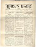 The Linden Bark, January 22, 1925