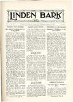 The Linden Bark, January 29, 1925