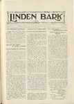 The Linden Bark, May 14, 1925
