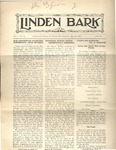 The Linden Bark, May 21, 1925