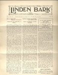 The Linden Bark, May 28, 1925