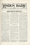 The Linden Bark, October 23, 1924