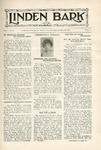 The Linden Bark, October 30, 1924
