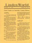 Linden World, November 21, 1990