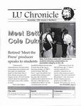LU Chronicle, November 1998 by Lindenwood University